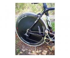 Cervelo 51c with Zipp 404's G3 PowerTap and Aero Jacket